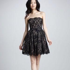 Robert Rodriquez strapless dress